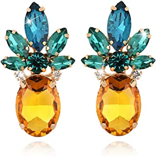 Best mustard yellow stud earrings Reviews