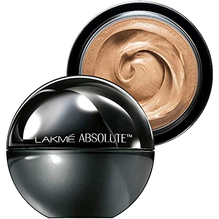 Lakmé Absolute Skin Natural Mousse, Golden Medium 03, With Spf, Light Texture , Stays Upto 16 Hours, 25 g