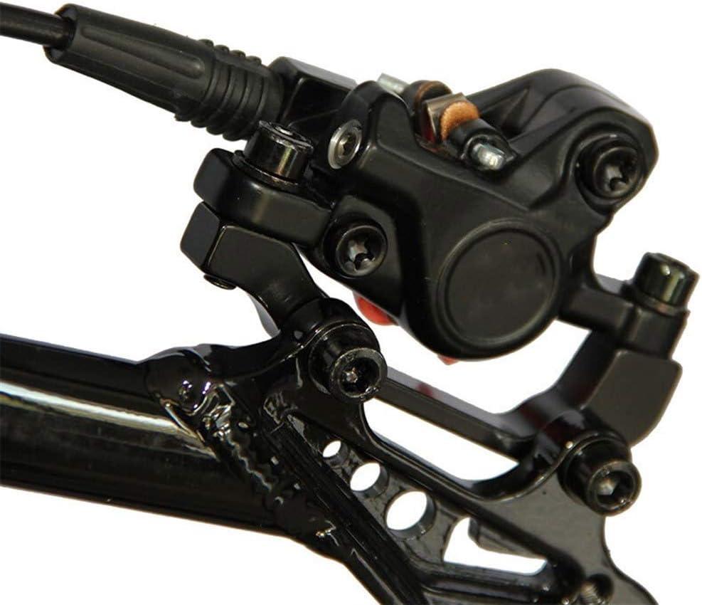 Fietsrem Olie Hydraulische Remmen For Fietsen Brake MTB Bicycle Disc Brake Clamp Mountain Remblokken New Model Fietsaccessoires Real M315 (Color : Rear disc) Front disc