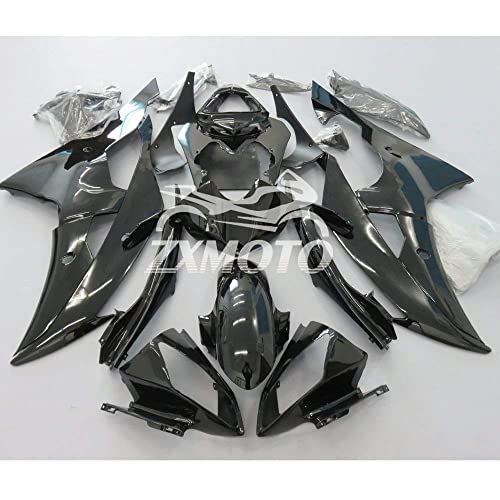 ZXMOTO Unpainted Gas Tank Cover Fairing for 2007 2008 YAMAHA YZF R1