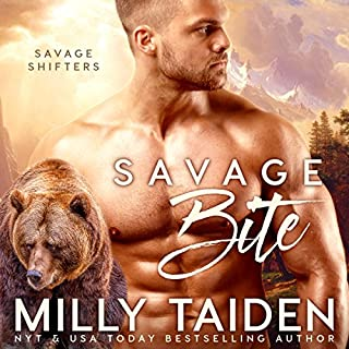 Savage Bite audiobook cover art