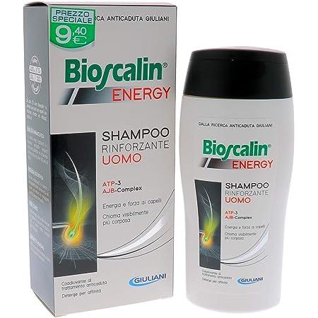BIOSCALIN ENERGY - Shampoo Rinforzante con ATP e AJB da 200ml - CAPELLI UOMO
