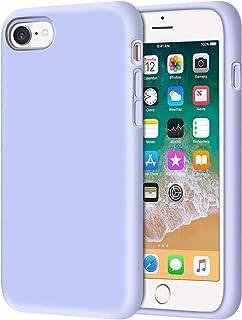 جراب سيليكون سائل لهاتف iPhone 6S Plus/iPhone 6 Plus رفيع للغاية واقي من السيليكون الناعم مع غطاء وسادة داخلي مضاد للانزلا...