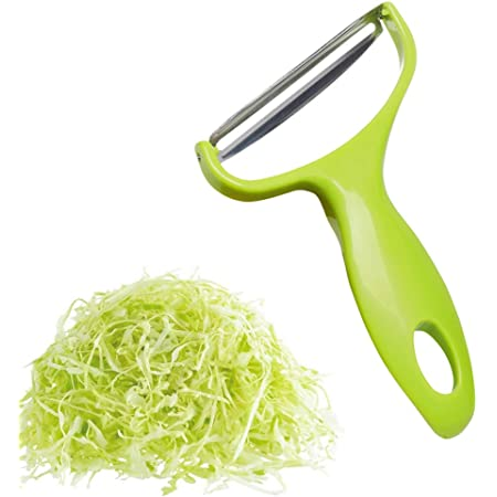 Details about  /Vegetable /& Fruit Peeler Stainless Steel Cabbage Grater Cutter Wide Mouth Slicer