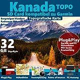 KANADA Garmin Karte Outdoor Topo 32GB microSD für Garmin Navi, PC und MAC ★