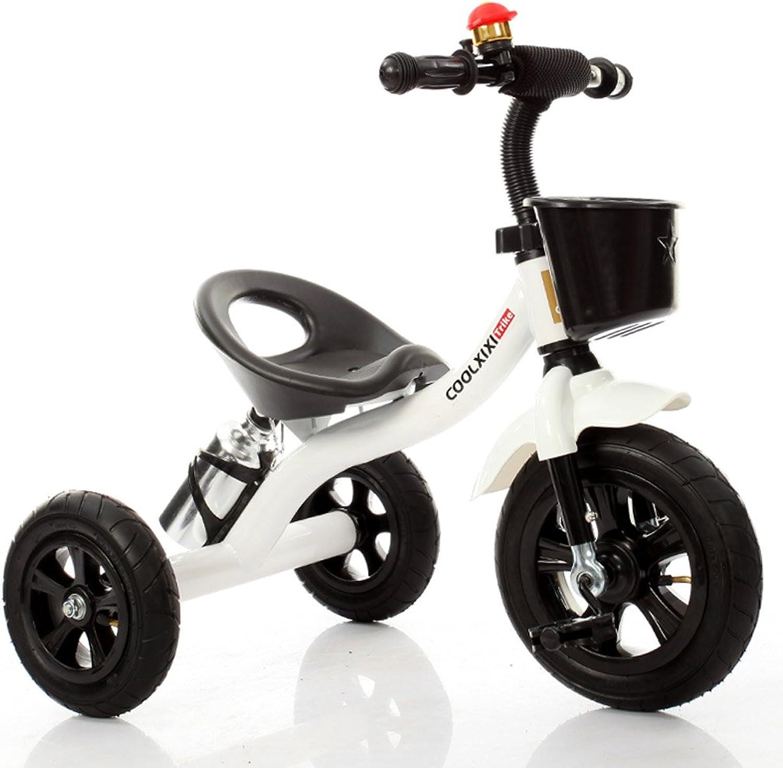 bienvenido a orden Bicicletas para Niños elegantes bicicletas para bebés bicicletas de tres tres tres ruedas para Niños y niñas bicicletas para bebés de 1-3-5-2-6 años salidas al aire libre vehículos( Color   blancoo )  descuento