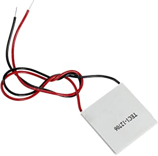 for Arduino Accessory LDTR-WG0227 TEC1-12706 40x40mm Thermoelectric Cooler Peltier Refrigeration Plate Module 12V 60W