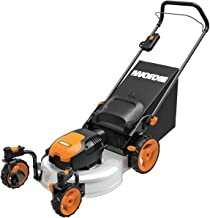 Best worx 19 13 amp electric lawn mower Reviews