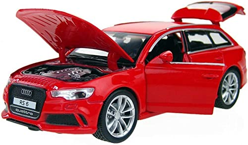 Storio Cars 1:32 Diecast Metal Pullback Toy car for Kids Best Gifts Toys for Kids Boys - RS 6