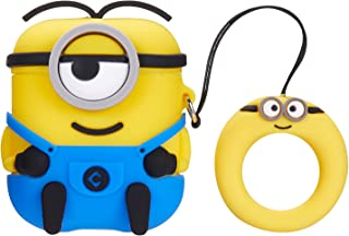 Mulafnxal Compatible with Airpods 1&2 Case,Cute Funny Cartoon Character Silicone Airpod Cover,Kawaii Fun Cool Design Skin,Fashion Animal Designer Cases for Girls Kids Teens Boys Air pods(3D One Eye)