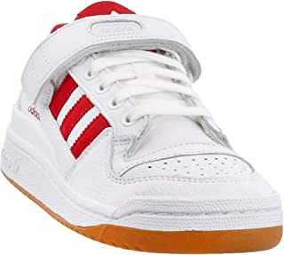 adidas Mens Forum Low Casual Sneakers, White, 11.5