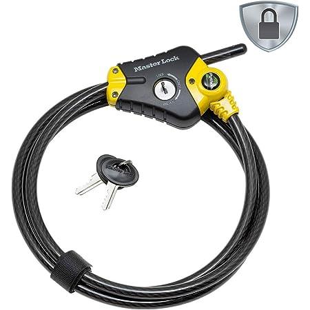 1.8M Heavy Duty Chain Lock Bike Bicycle Security Padlock Motorbike Motorcycle U1
