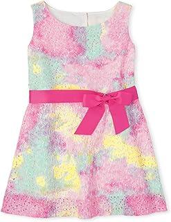 فستان دانتيلا بدون أكمام للفتيات من ذا كيدز بليس