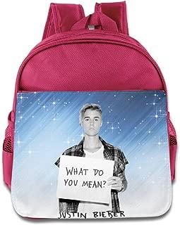 BADOU Singer Justin Pop Bieber Kid Daypack Leisure RoyalBlue
