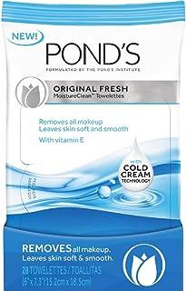 Pond's Original Fresh MoistureClean Towelettes With Cold Cream Technology 28 ea