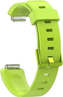 Fitbit İNSPİRE HR Uyumlu Markacase SMALL Beden (S Size ) Silikon Kordon (Yeşil)