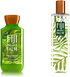 Bath and Body Works Fiji Pineapple Palm Fragrance Mist and Lotion Set