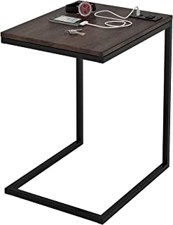 Z-Line Designs ZL080STU Tech C End Table, Black