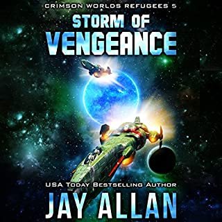 Storm of Vengeance audiobook cover art
