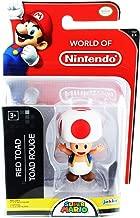 Jakks Pacific World of Nintendo Super Mario Toad 2.5-Inch Mini Figure