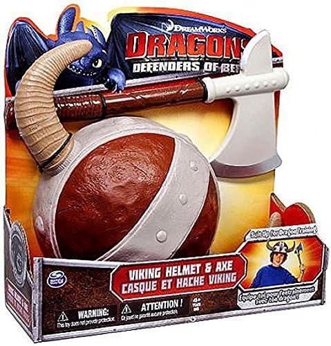 Dreamworks Defenders Of Berk Toys, Action Figures, Roleplay Toys, Games & Plush Dragons Riders Of Berk Exclusive Viking Helmet & Axe