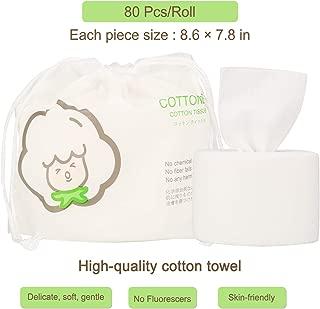 GothicBride Disposable Face Towel 100% Luxury Facial Cotton Tissue Soft Towel Non-woven Fabric Disposable Facial Cotton Tissue Makeup Facial Soft Pads