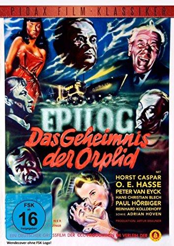 Epilog - Das Geheimnis der Orplid / Beeindruckender Film noir von Helmut Käutner (Pidax Film-Klassiker)