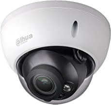 Dahua 4MP Dome POE IP Camera IPC-HDBW4433R-ZS(HDBW4431R-ZS Upgraded Model),2.7-12mm Motorized Varifocal Lens Optical Zoom,IR Day and Night,SD Slot,Outdoor Security Surveillance Camera H.265 ONVIF