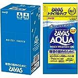 ザバス(SAVAS) アクアホエイプロテイン100 グレープフルーツ風味 トライアルタイプ 10.5gx6袋