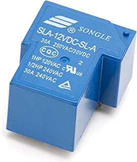 FUXU 5PIN 12V 30A Power Relays SLA-12VDC-SL-A High Current Coil Power PCB Relay