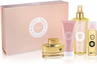 Armaf Vanity Femme Essence For Women, 4 Piece Gift Set, Eau De Parfum - 100ml + Body Lotion - 100ml + Fragrance Body Spray...