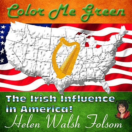 Color Me Green audiobook cover art