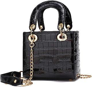 Qiuhome Girls Small Handbag Purse Leather Shoulder Bag for Kids