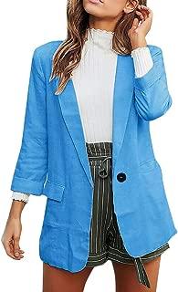 Casual Blazer Women's Suit Jacket Long Sleeve Blazer Business Office Jacket Suits Coat Oversized Elegant Blazer