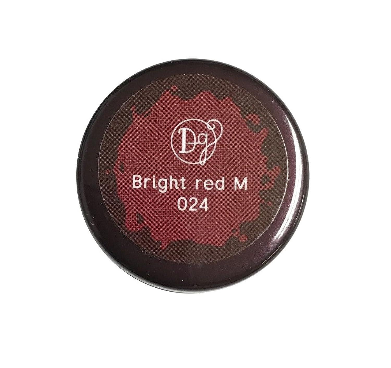 DECORA GIRL カラージェル #024 ブライトレッドミディアム
