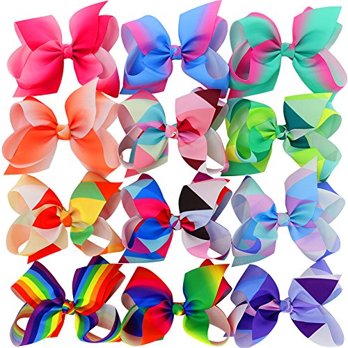 10 best jojo rainbow bow with hair for 2020