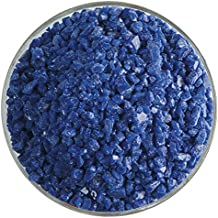 Bullseye Glass Coarse Frit Indigo Blue Tint Transparent 90 COE