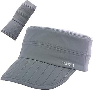 Fancet Unisex SPF Quick-Drying Running Baseball Cap Large Bill Sun Hat 55-61cm