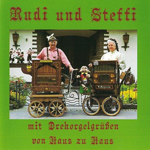 Rudi und Steffi mit Drehorgelgrüssen von Haus zu Haus (31er Raffin Kontertdrehorgel, 20er Hofbauer Harmonipan Drehorgel)