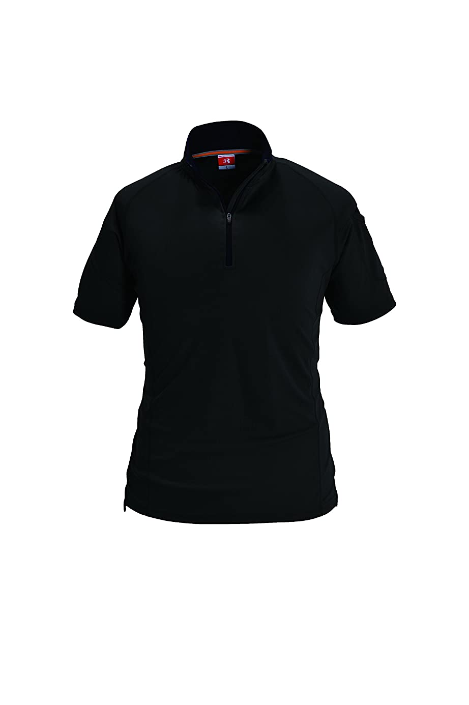 独創的不適切な毒BURTLE バートル 半袖ジップシャツ 春夏用 415 35 ブラック SS