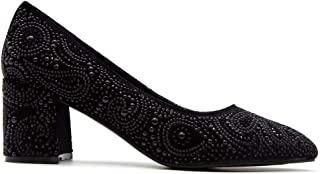Alma en Pena Luxury Fashion Womens 118196BLACK Black Pumps | Season Outlet