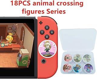 [Newest 18 pcs ] Animal Crossing New Horizons NFC Cards, Animal Crossing Figures Game Items Cards, Switch/Lite Wii U