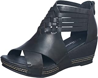 Antelope Women's 462 Leather Braided Low Wedge