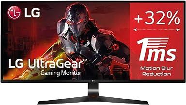 "LG LG 29UM69G-B- Monitor Gaming de 29"" WFullHD (2560x1080, IPS LED, 21:9, HDMI x1, DisplayPort x1, USB, 5ms, 75Hz, ultrawi..."