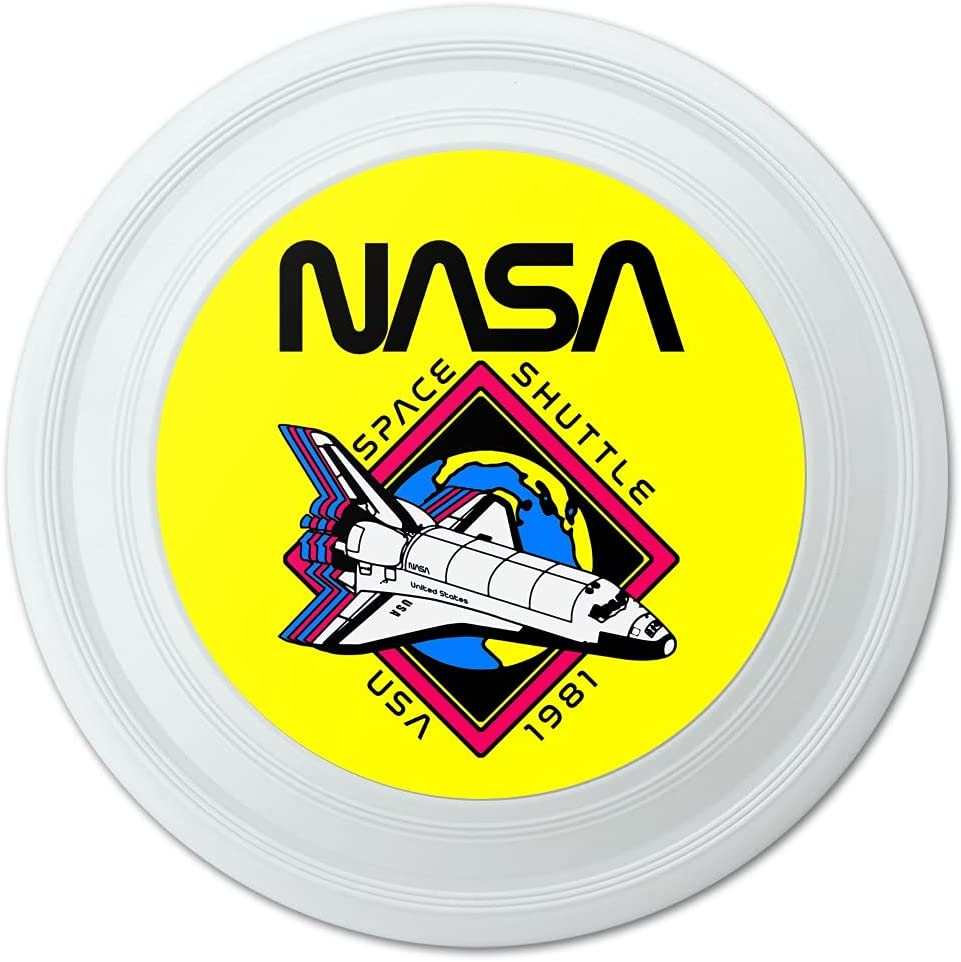 Super beauty product restock quality top! GRAPHICS MORE Space Ranking TOP9 Shuttle 1981 Flying Disc Novelty 9