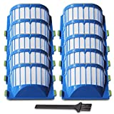 YOKYON Replacement Parts 10 x Aero Vac Filters Kit for iRobot Roomba 500 600 Series 536 550 551 614 620 630 650 655 660 665 680 690 Vacuum Cleaner Accessory