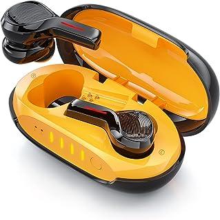 Auriculares Inalambricos Bluetooth 5.1, Auriculares Bluetooth Deportivos con Cancelación de Ruido Ambiental, 2 Micrófono y...