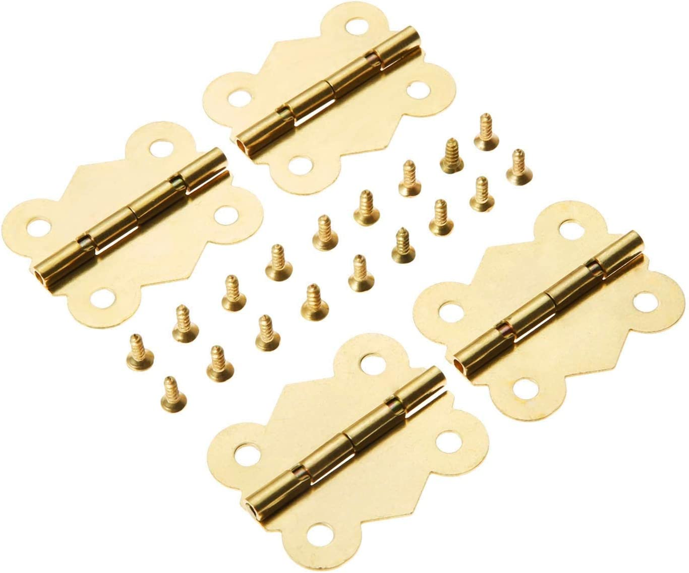4Pcs Butterfly Sale Special Price Door Furniture Hinge 4 Drawer Holes Gold Attention brand Cabinet