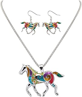 lapin mode /él/égant collier pendentif en cristal strass femme collier de cha/îne Rose rouge /él/égant et populaire Ogquaton Collier pour les femmes