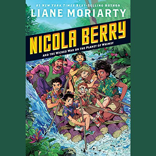 Page de couverture de Nicola Berry and the Wicked War on the Planet of Whimsy